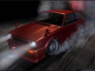 '79 Civic Burnout